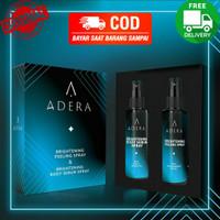 Pemutih Badan Adera Brightening Peeling & Body Serum Spray Lotion