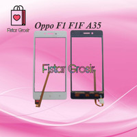 Touchscreen TS Layar Depan Kaca LCD Oppo F1 F1F A35
