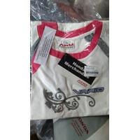 VARIO T-SHIRT 1 PINK W-S APPAREL RESMI HONDA AHTS1001005