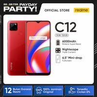"""realme C12 3/32GB[Helio G35, 6000mAh Battery,6.5""""Mini-drop Fullscreen]"""