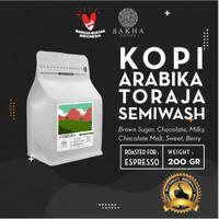 Kopi Arabika Toraja Sapan Roast For Espresso 200 Gram - SAKHA COFFEE - KATOR200