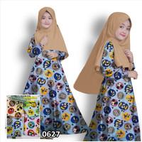 Gamis Anak Perempuan Kezia Baju Muslim Anak Gamis Fashion Anak Muslim