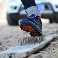 Sepatu Boots safety shoes kets pria untuk kerja/proyek bobot ringan