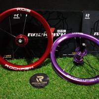 Whellset velg racing alloy sepeda pushbike / balancebike