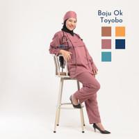 Baju OK Toyobo / Baju Medis Lengan Panjang / Bahan Toyobo