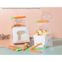 Klip Penyegel Kantong Plastik Makanan bentuk WORTEL set isi 5