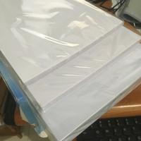 Kertas PVC ID Card Instan 0,76mm Double Side White, Grosir