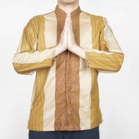 Galvano Baju Koko Muslim Kemeja Lengan Panjang Pria C - XL