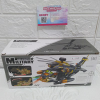 Mainan Anak Bump and Go - HELICOPTER MILITARY #730