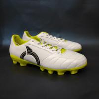 Sepatu Bola Ortuseight Mirage FG White Lime Green Black