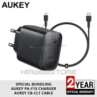 AUKEY PA-F1S CB-CL1 Kabel PD Charger Lightning Fast Charging Iphone