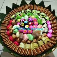 Kue Tampah Jajanan Pasar Tradisional isi 150 pcs