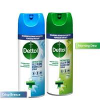 Dettol disinfectant spray 450ml Disinfektan spray Aerosol ALL IN ONE