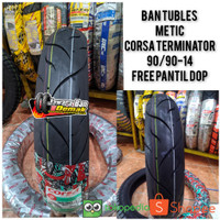 BAN CORSA TERMINATOR DONAT 90/90-14 TUBLES METIC