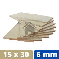 Papan MDF Premium Tebal 6 mm [30 X 15 CM]