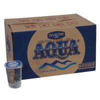 AQUA Gelas 220 ml 1 Dus or Karton ( isi 48 Gelas )