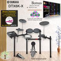 Drum Elektrik Yamaha DTX6KX/ DTX6K-X/ DTX 6KX / DTX 6 KX / 6K / 6KX