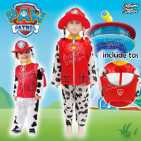 Kostum Marshall Paw Patrol / Costume anak laki - Size S