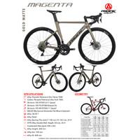 Sepeda Balap Roadbike Pacific Magenta Shimano 105