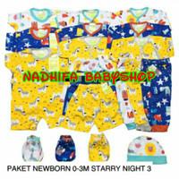 Paket Hemat New Born/Baju Bayi/Celana Panjang/Celana pop Merk Velvet