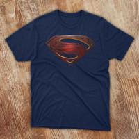 Kaos Superman Kaos Justice League Black Superman T Shirt Keren
