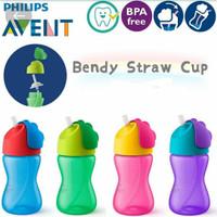 Philips Avent Straw Cup 300ml Botol Minum Sedotan Avent