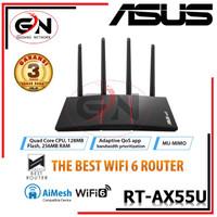 ASUS RT-AX55U WiFi 6 AX1800 With AiMesh AX 1800 / RT-AX55 AX1800