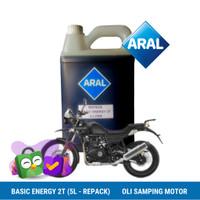 ARAL BASIC ENERGY 2T (5 LITER - KEMASAN REPACK)