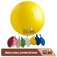 BALON LATEX JUMBO 24 INCH SUPER TEBAL - DOFF