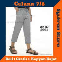Celana Sirwal 7/8 Bahan Baby Terry Training Pangsi Afkar Clothe Ori-AO