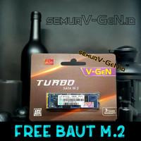 V-GEN SSD M.2 SATA 256GB TURBO M2 256 GB VGEN 2280 bukan 250gb / 240gb