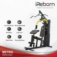 Alat Fitness Home Gym 1sisi 150LBS iReborn Metro