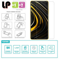 LP HD Tempered Glass Xiaomi RedMi 9T - Poco M3 - Kaca Original Clear