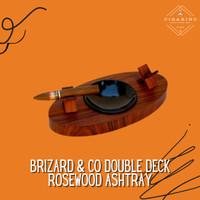 Brizard & Co Deck Ashtray Double Rosewood asbak