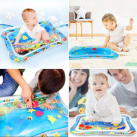 Mainan Matras Air Sensorik Motorik Water Play Mat Montessori Bayi