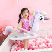 pelampung unicorn balon pelampung anak perempuan kolam renang