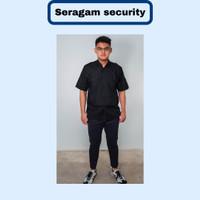 SERAGAM PDL SAFARI lengan pendek / SERAGAM SATPAM SECURITY - S