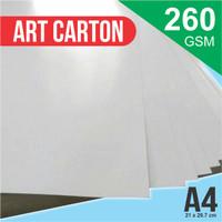 Kertas Art Carton 260 GSM A4