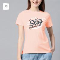 Baju Cewek /Kaos Lengan Pendek Cewek / TShirt Distro Cewek -81-00052 - SALEM, M