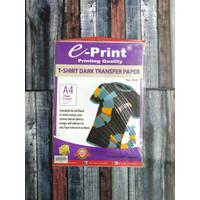 EPRINT T-SHIRT DARK TRANSFER PAPER A4 300 GRAM