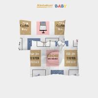 Kintakun Set Bantal + Bantal Anti Peyang Bayi Luxury