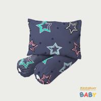 Kintakun Set Bantal + Guling Bayi Luxury - Shooting Star