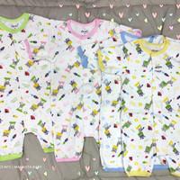 Baju jumper bayi pendek motif/Over all bayi pendek/Romper bayi/SNI/
