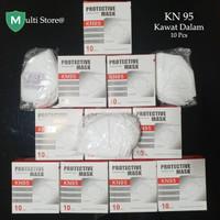 Masker KN95 Protective Mask (10pcs) Masker KN 95 Disposable Mask