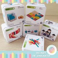 JKT Puzzle Tin Box Educational Travel Toys Mainan Edukatif Montessori