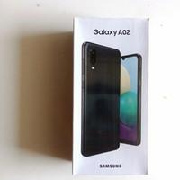 Samsung Galaxy A02 Ram 3/32GB Garansi Resmi - Hitam