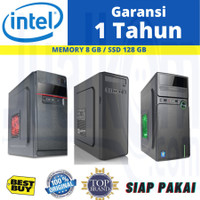 PC Rakitan Komputer Core i7 4790 8GB SSD 128GB Cocok Untuk Kantoran