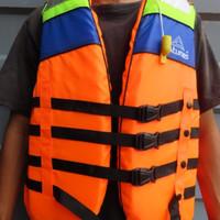 Life Jaket / Rompi Pelampung / Baju Pelampung ATUNAS Size M,L,XL