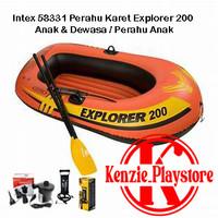 Intex 58331 Perahu Karet Explorer 200 Anak & Dewasa / Perahu Anak - Perahu Saja