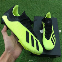 OBRAL Sepatu Bola Original Adidas X 18.3 FG - Yellow MURAH